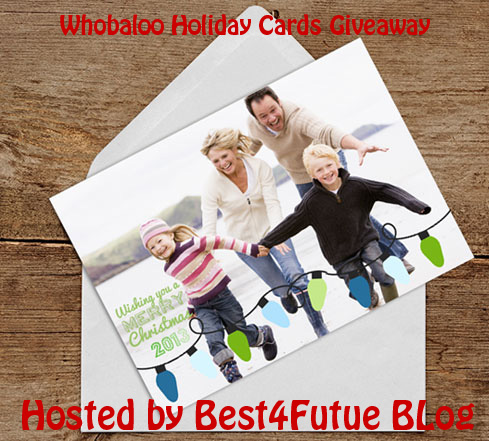 Whobaloo Holiday Cards Giveaway