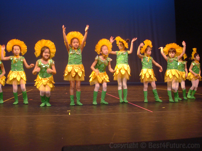 My daughter's 2014 Chinese New Year Performance