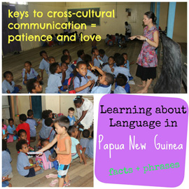 Learning about Language in Papua New Guinea