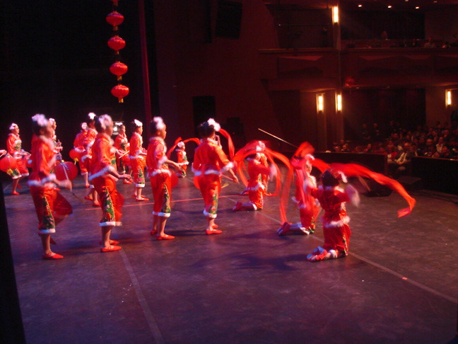 My daughter's 2013 Chinese New Year Performance