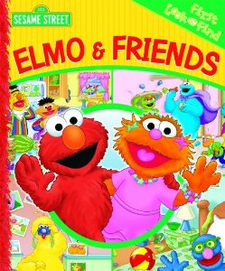 Elmo & Friends (My First Look and Find) [Board book]