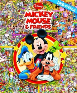 Look and Find: Mickey Mouse & Friends [Hardcover]