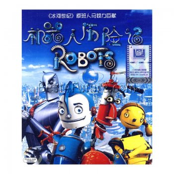 Multilingual Blu-Ray Movie: Robots (Cantonese/Chinese/Spanish/Ru